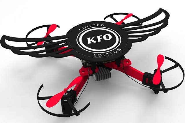 KFC's Kentucky Flying Object Is a Meal Box That You Can Transform into a Drone