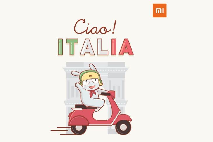 Mi Italia website