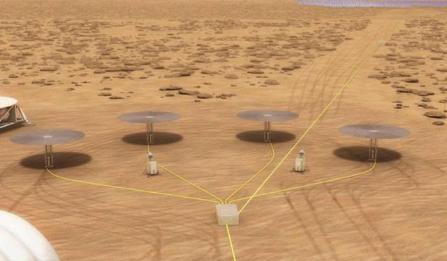 Mockup Martian Base