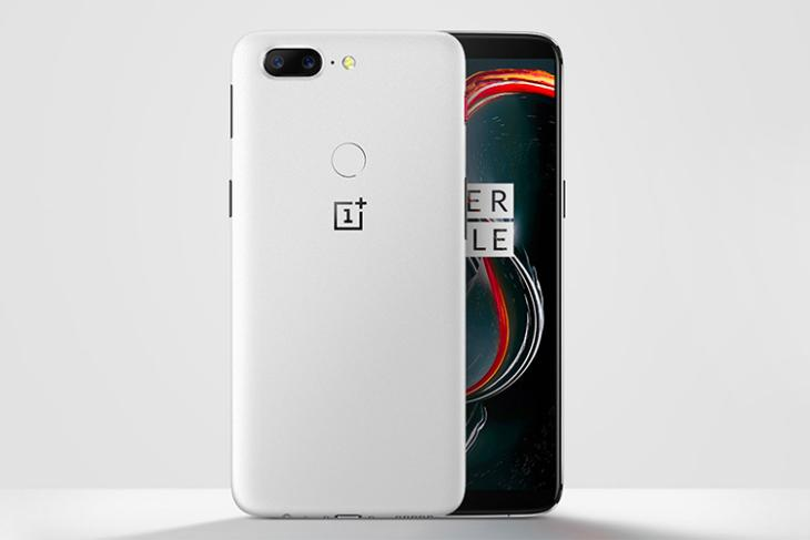 OnePlus 5T Sandstone White is Now Official