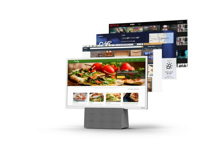 Philips Puts A Tv In Your Kitchen With Google Istant S