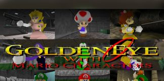 Play Goldeneye 007 as Mario with This Mod