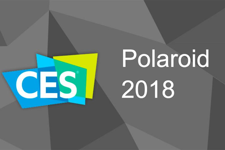 Polaroid at CES 2018- New Cameras, Printers and a Smart Speaker