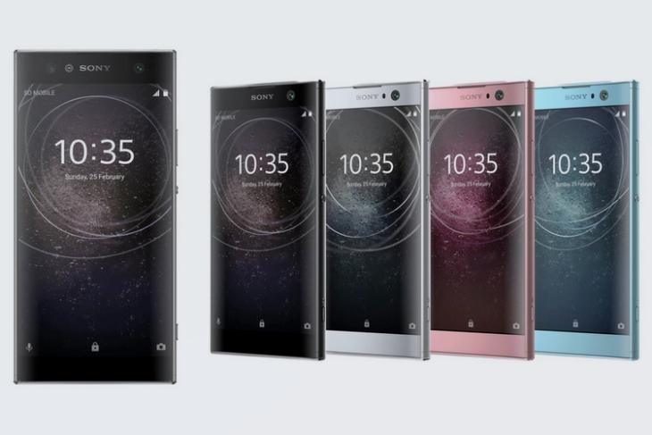 Press Renders and Specs of Sony's Upcoming Xperia XA2 and XA2 Ultra Leaked