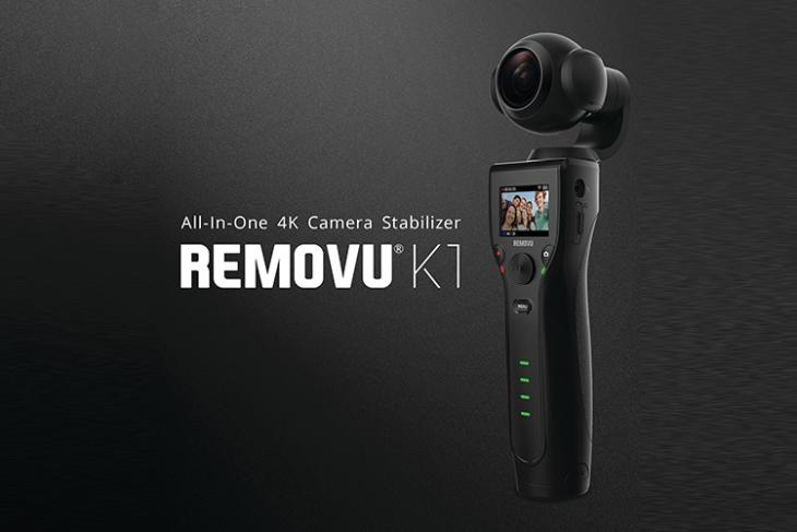 Removu Shows Off Its Self-Stabilizing Handheld 4K Camera at CES 2018