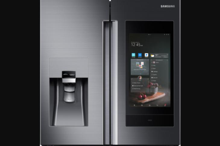 Samsung's new smart refrigerator has Bixby, AKG speakers, and can control your smart home
