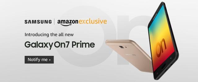 Samsung Galaxy On7 Prime Amazon