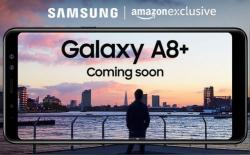 Samsung's Upcoming Galaxy A8+ Slated to Be an Amazon Exclusive Smartphone