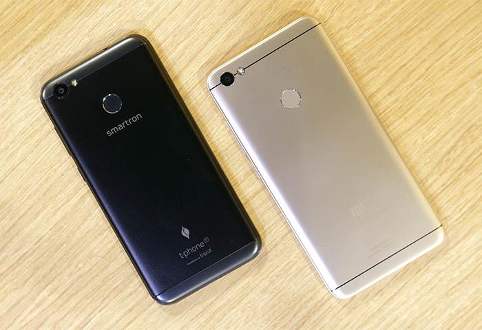 Smartron Comparison Redmi Y1 2