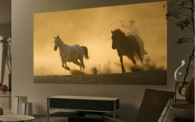 Sony's Latest 4K Projector Is a $30,000 Glass-And-Marble Wonder