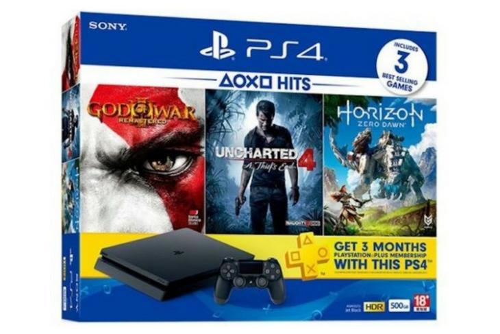 Sony PS4 Slim Bundle