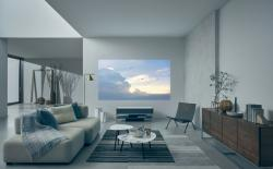 Sony Unveils a $30,000 4k Projector with Glass Speakers and Marble Top