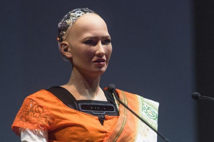 Sophia, the Robot, Enthralls India with Lessons on Science and Peace