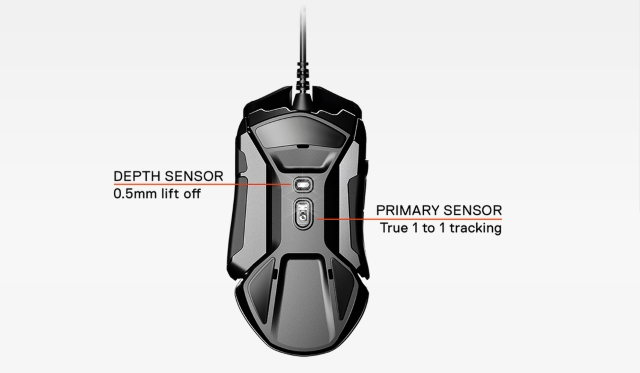 SteelSeries Rival 600 Two Sensors