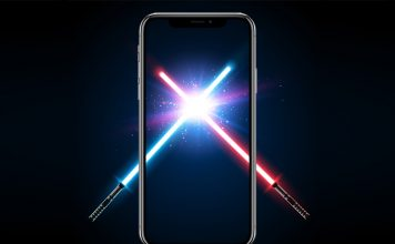 This ARKit App Turns a Piece of Paper into a Lightsaber