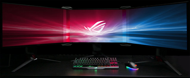 Asus Goes Old School to Remove Bezels from Your Multi-Monitor Setup