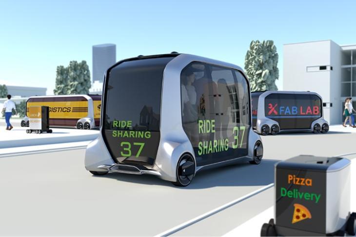 Toyota Showcased Its e-Palette Autonomous Concept at CES