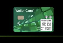 Visa and Dynamics Unveil Wallet Card with Cellphone Antenna