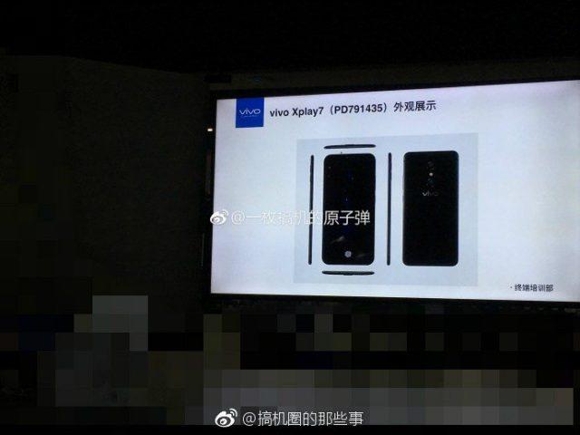 Vivo Xplay 7 Leaks Again with 4K Display and 10GB RAM