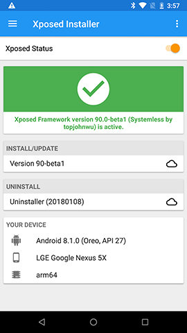 Xposed Installer Magisk