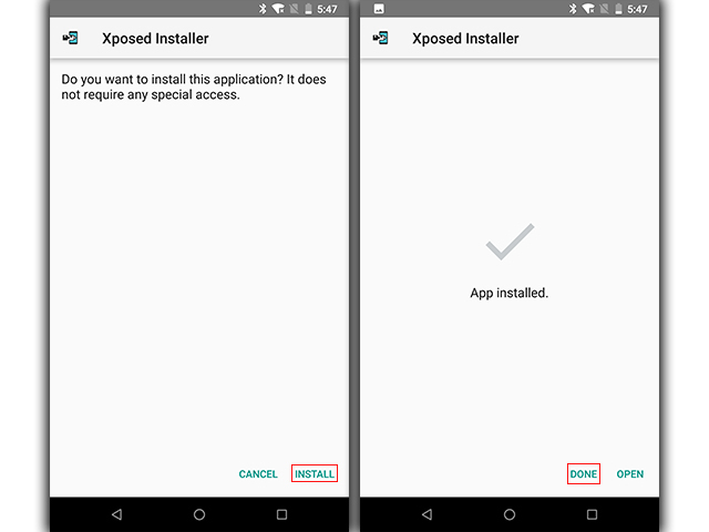 Xposed Installer Screenshot 1