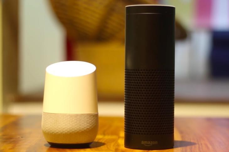 alexa google home smart speaker assistants