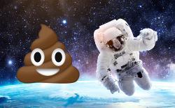 astronaut poop