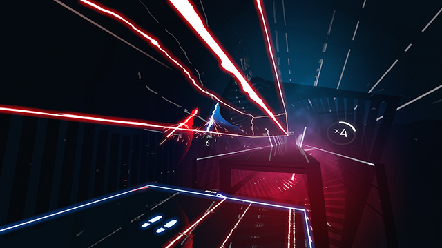 beat saber gameplay image