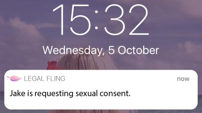 Blockchain based sexual consent