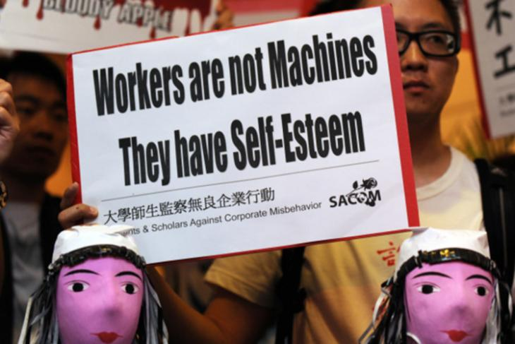Foxconn Blamed for Poor Work Conditions Amid Controversy Over Worker's Suicide