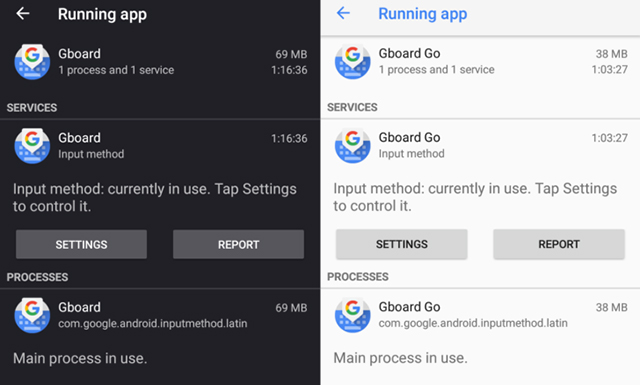 Lite Version of Gboard Points At Nearing Android Go Launch