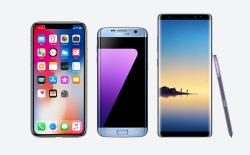iPhone X Beats Samsung Note 8 and S7 Edge in OLED Burn-in Faceoff