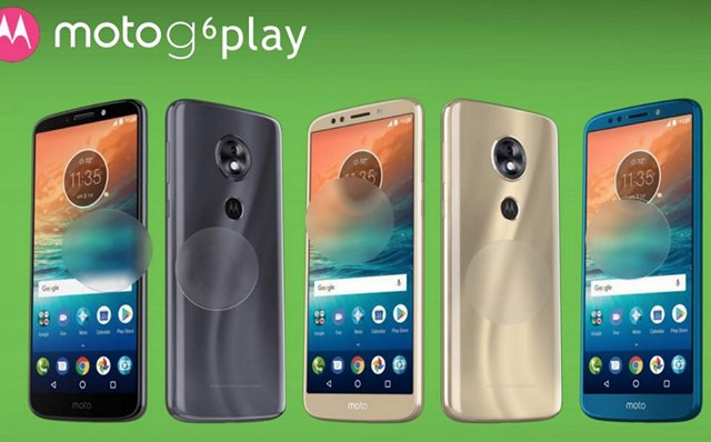 Moto G6 Play Renders and Specifications Leaked Online