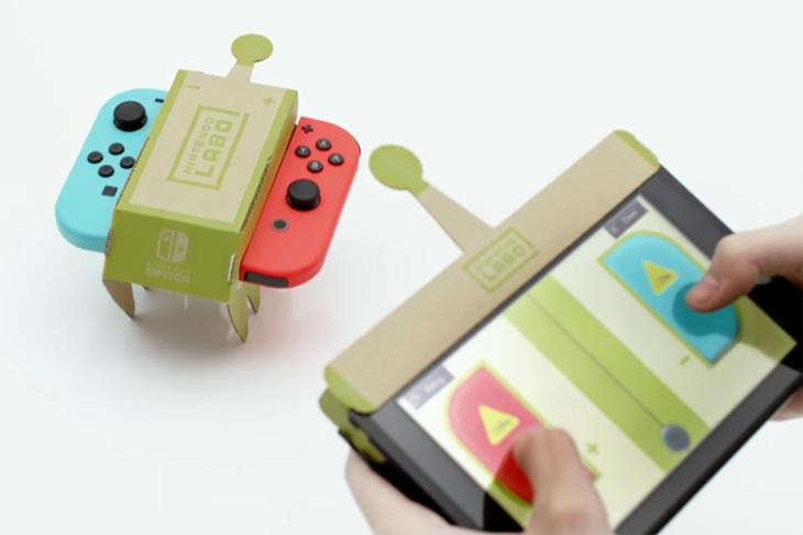 This Unique Set of DIY Cardboard Accessories Turns Nintendo Switch into Remote Controlled Toys