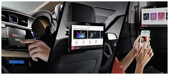 "Ola Bets Big On In-Cab Entertainment and Productivity System ""Ola Play"""
