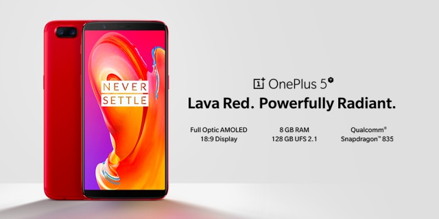 oneplus 5T red india launch