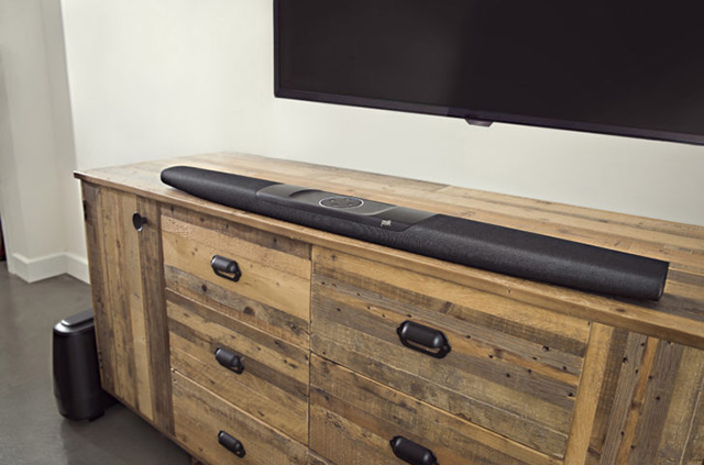 This Soundbar from Polk Audio is the Latest Alexa-Powered Gadget at CES 2018