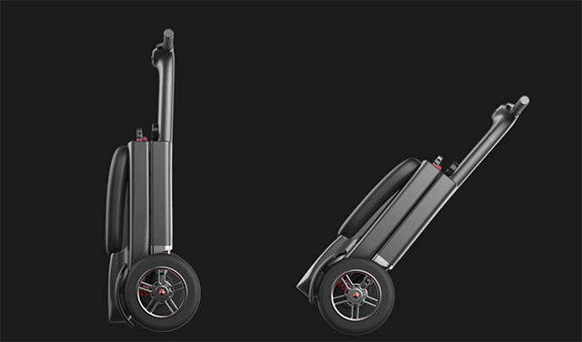 World's First Smart Foldable Scooter Launched at CES 2018