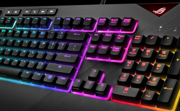 ROG Strix Flare keyboard by Asus
