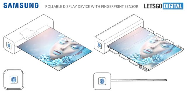 samsung rollable square