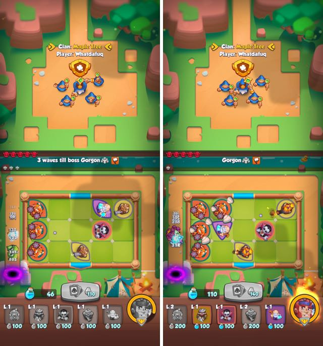rush royale android multiplayer games