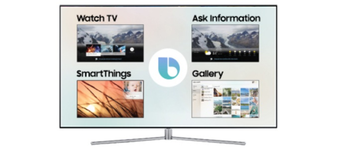 Samsung Banks on AI to Make Smart TVs More Personal at CES 2018