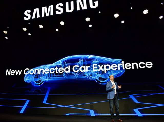 Samsung at CES 2018: SmartThings, Connected Cars, 'Flip' Whiteboard and MicroLED TVs