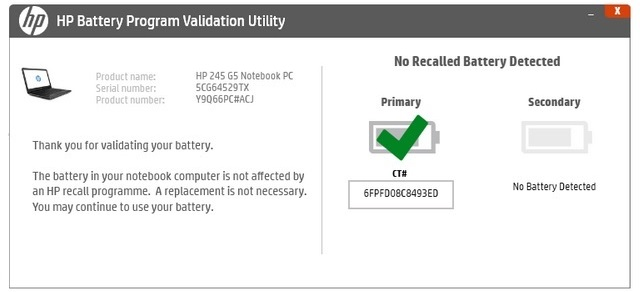 HP Issues Worldwide Laptop Battery Recall Over Fire Hazard