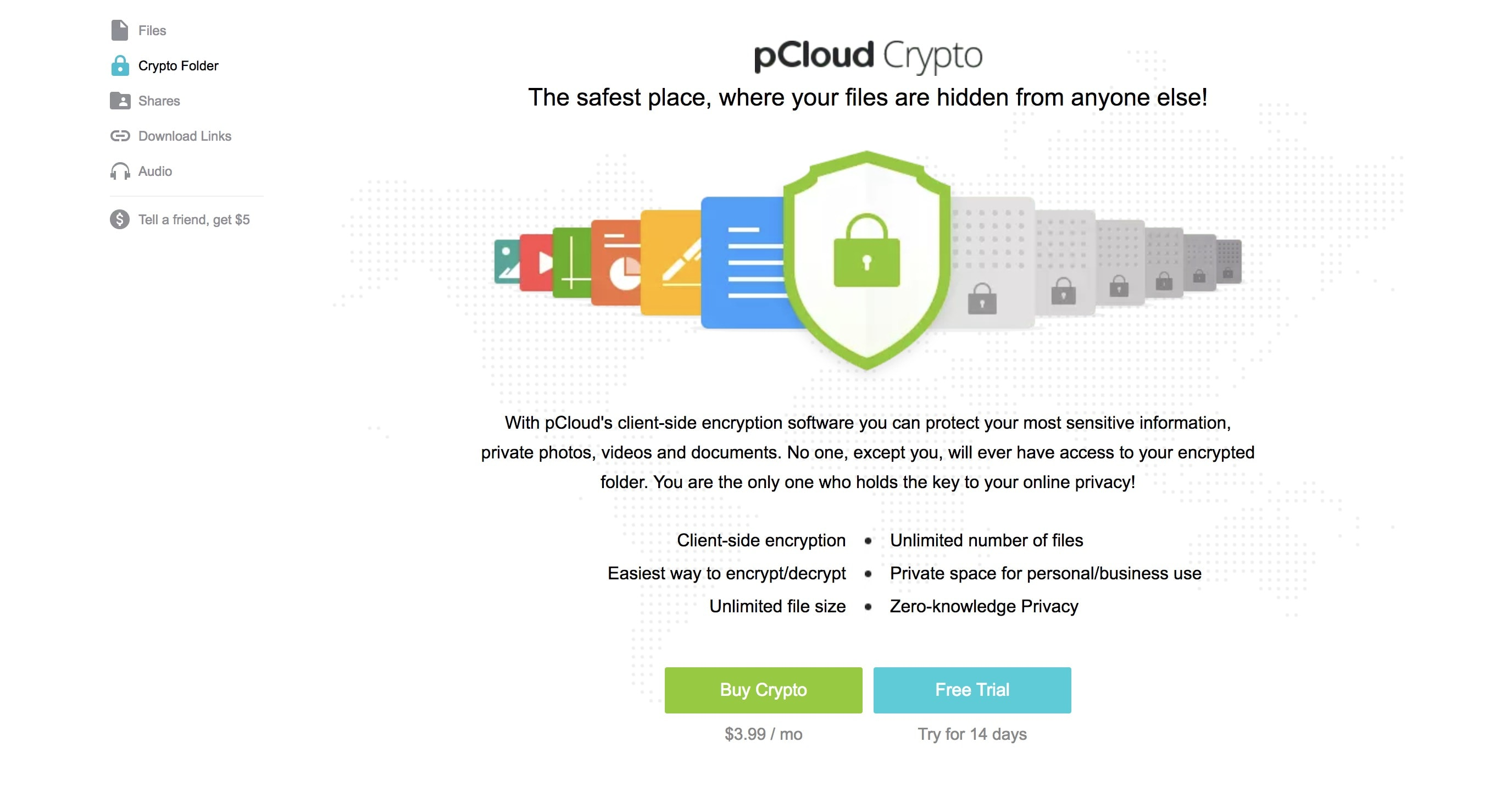 4 pcloud crypto
