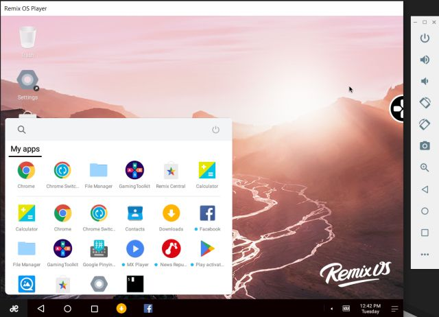 4. Remix OS Player