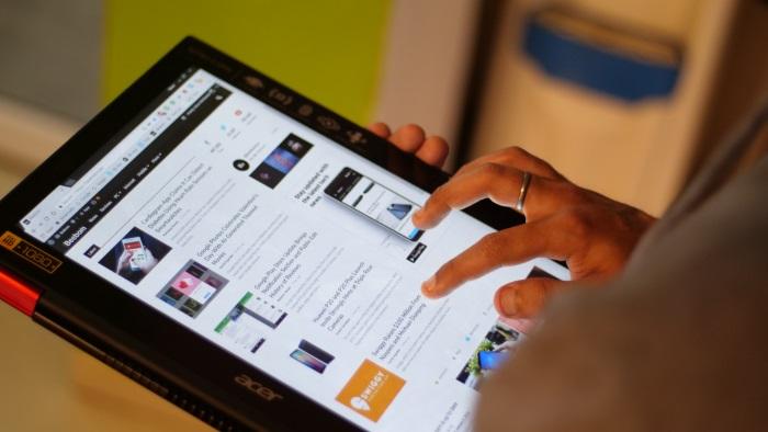 Acer Nitro 5 Spin Convertible Mode