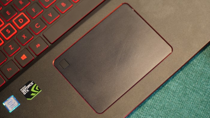 Acer Nitro 5 Spin Touchpad