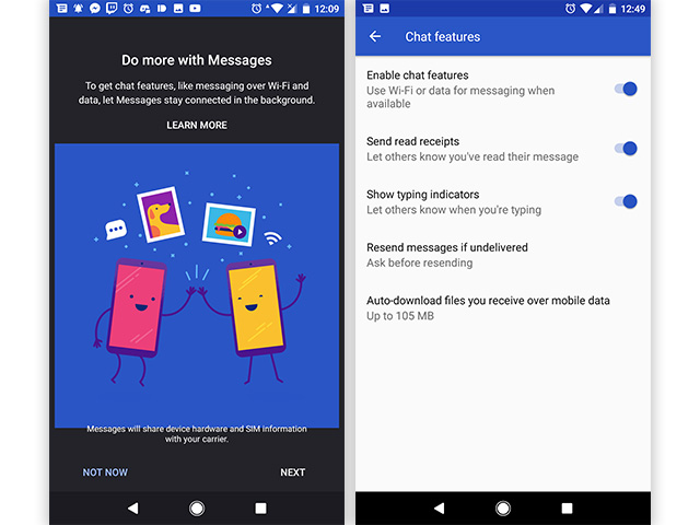 Android Messages (v2 9) with RCS Support Starts Rolling Out
