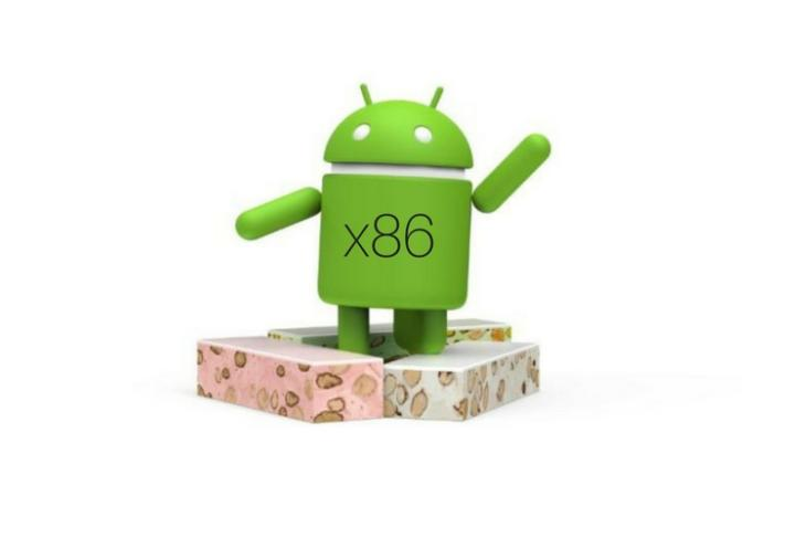 Android x86 Nougat